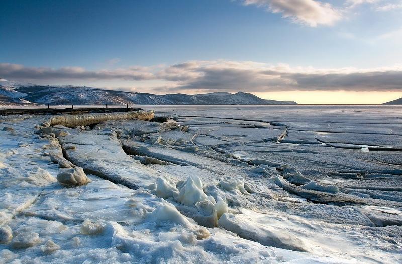 ...последние льды
