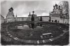 Фишайный пейзаж с ростовским кремлем