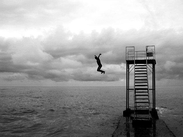 прыжок в чёрное море