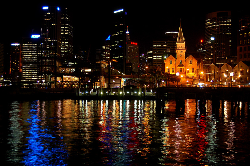 краски ночного города