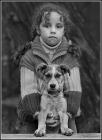 Про девочку и щенка.
