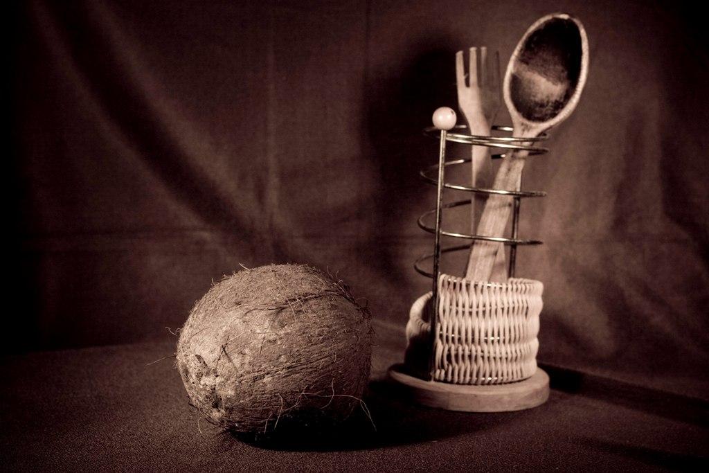а впереди кокос