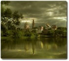 - Этот город просыпаясь смотрит в облака.. -