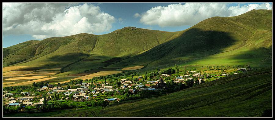 Поселок в Армении