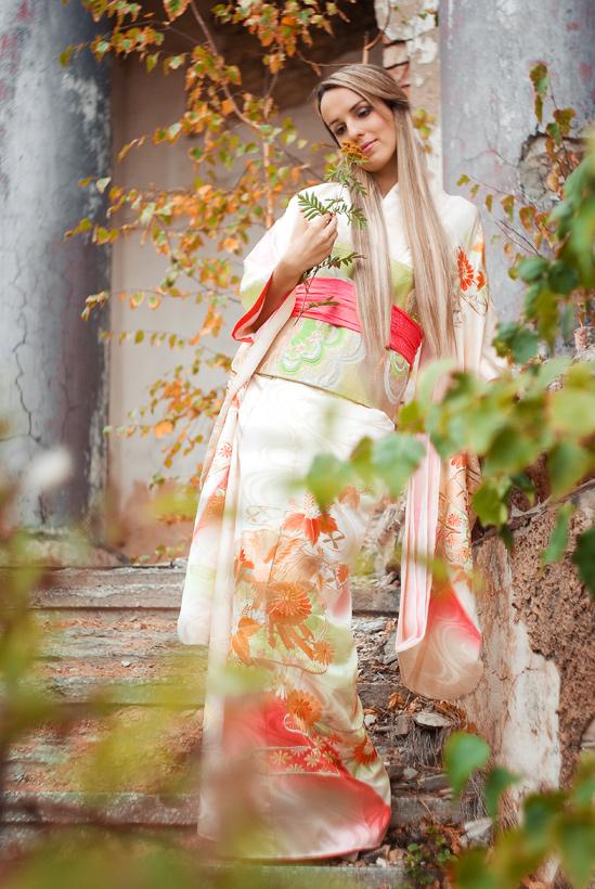 Осень в японском стиле.