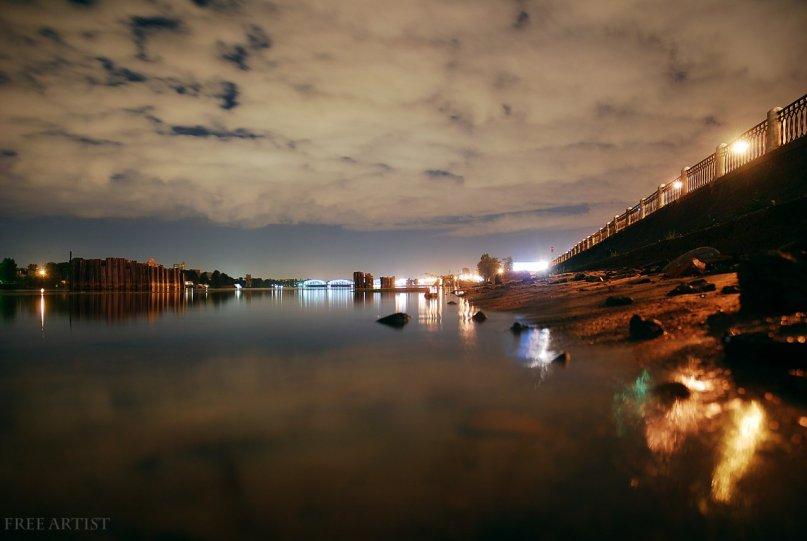 ночная Река.