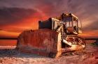 Огненный трактор