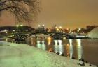Мост на пруду