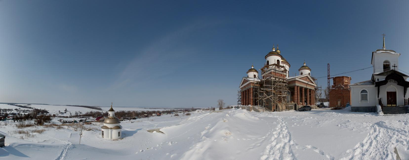 Казанский храм в Большой Валяевке